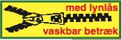 med Lynlås - Vaskbar Betræk